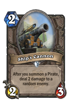 Ship's Cannon