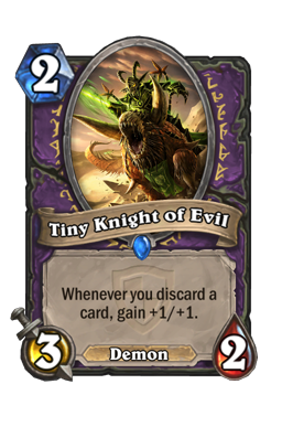 Tiny Knight of Evil