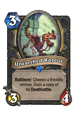Unearthed Raptor