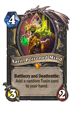 Xaril, Poisoned Mind