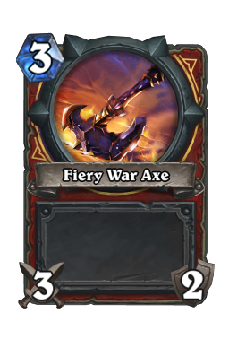 Fiery War Axe
