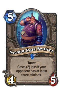 Second-Rate Bruiser
