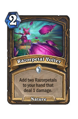 Razorpetal Volley