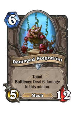 Damaged Stegotron