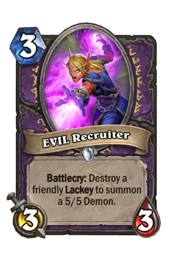 EVIL Recruiter