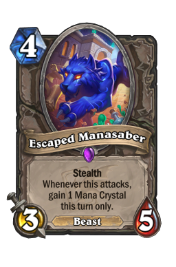 Escaped Manasaber