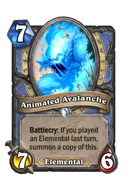 Animated Avalanche