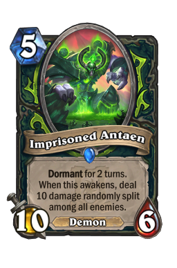 Imprisoned Antaen