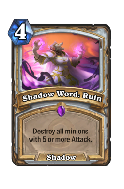 Shadow Word: Ruin (Legacy)