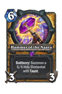 Hammer of the Naaru