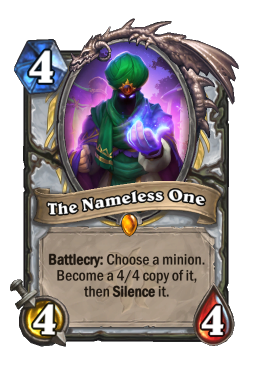 The Nameless One