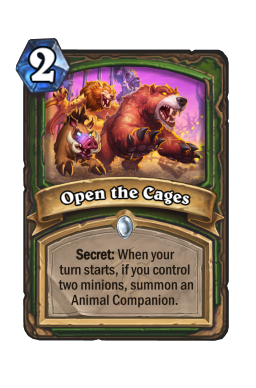 Open the Cages