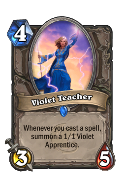 Violet Teacher (Core)