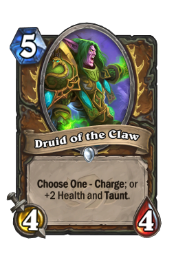 Druid of the Claw (Classic)